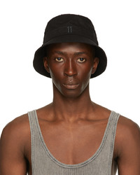 11 By Boris Bidjan Saberi Black New Era Edition Logo Bucket Hat