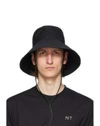 Feit Black Organic Cotton Utility Hat