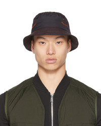 Ps By Paul Smith Black Smile Bucket Hat