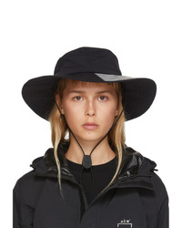 A-Cold-Wall* Black Snap Flap Bucket Hat