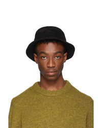 Acne Studios Black Twill Buk A Bucket Hat
