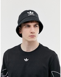 adidas Originals Bucket Hat In Black