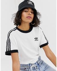 adidas Originals Trefoil Logo Bucket Hat In Black