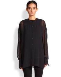 04832a8f0 Acne Studios Adeline Silk Chiffon Shirt Out of stock · Acne Studios Adare  Sheer Silk Blouse