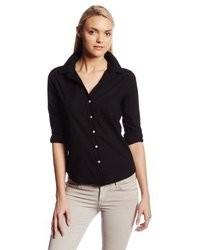 Women's Black Button Down Blouses from Amazon.com | Women's Fashion
