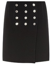 Balenciaga Rivet Detail Mini Skirt