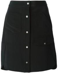 Alexander Wang Buttoned A Line Skirt