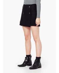 Mango Outlet Buttoned Wool Skirt
