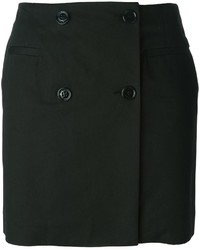 Love Moschino Button Mini Skirt