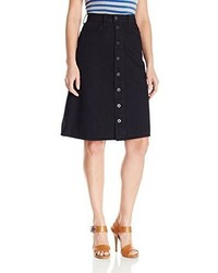 Lucky Brand High Rise Button Front Skirt