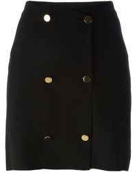 Maison Margiela Buttoned Pencil Skirt