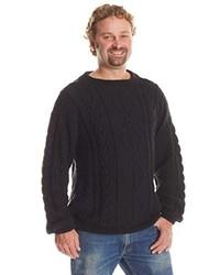 El Gringo Imports Alpaca Cable Knit Sweater