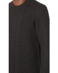 rag & bone Angus Cable Crew Sweater
