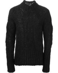 Ann Demeulemeester Cable Knit Sweater