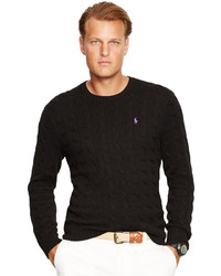 Polo Ralph Lauren Big Tall Cable Knit Crewneck Sweater