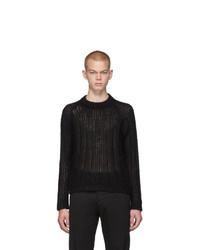 Prada Black Mohair Sweater