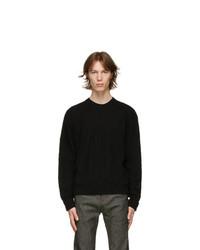 Neil Barrett Black Wool Misd Sweater