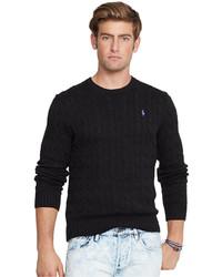 Polo Ralph Lauren Cable Knit Crewneck Sweater