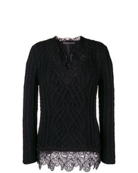 Ermanno Scervino Cable Knit Sweater