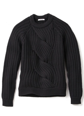 Carven Cable Knit Sweater | Where to buy & how to wear