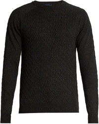 Lanvin Cable Knit Wool Sweater
