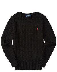 Ralph Lauren Childrenswear Boys 8 20 Cable Knit Pullover