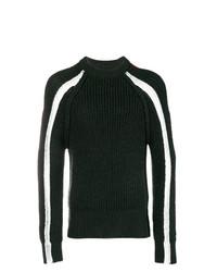 Maison Margiela Colour Block Knitted Sweater