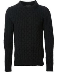 Diesel Cable Knit Sweater