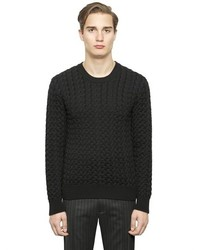 Dolce & Gabbana Cable Knit Wool Sweater