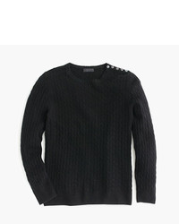 Italian cashmere mini cable sweater medium 343237