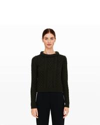 Meera cable knit sweater medium 419356
