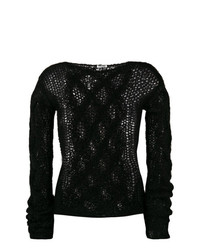 Miu Miu Open Knit Jumper