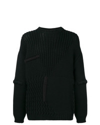 Oamc Panelled Knit Jumper