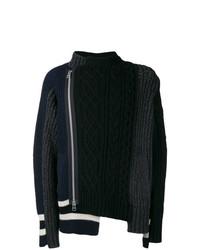 Sacai Panelled Sweater
