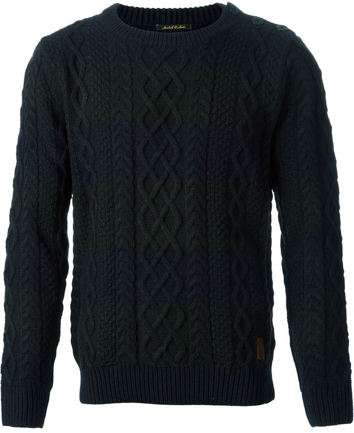 Scotch & Soda Cable Knit Sweater | Where to buy & how to wear