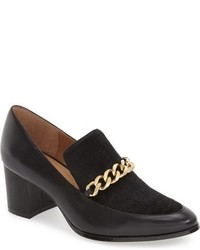 Black Calf Hair Pumps