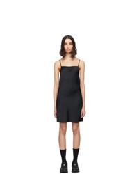 alexanderwang.t Black Light Wash And Go Mini Cami Dress