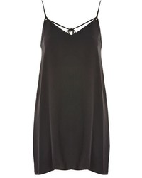 Topshop Rouleau Slip Mini Dress