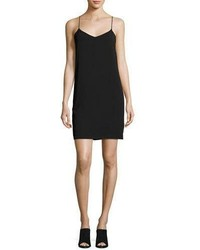 Vince V Neck Camisole Dress Black
