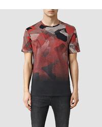 AllSaints Fragt Camo Crew T Shirt