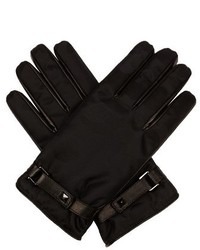 Valentino Camouflage Jacquard Gloves