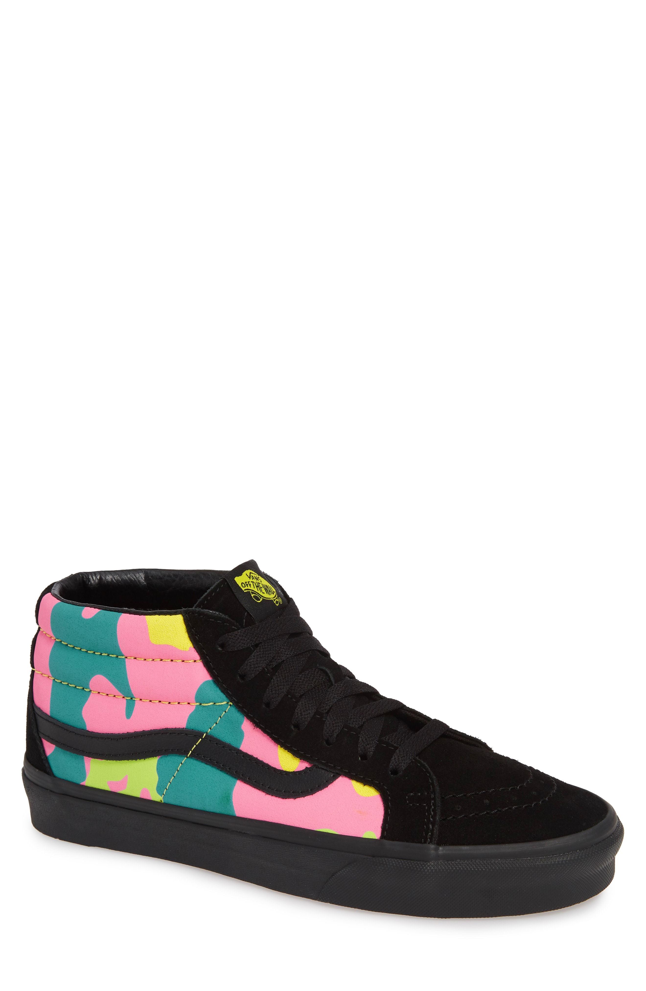 10f2078786a5 ... Vans Sk8 Mid Reissue Neon Camo Sneaker