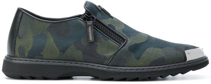 60267b93470e5 Giuseppe Zanotti Design Runner Camouflage Sneakers, $795   farfetch ...