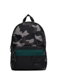 Diesel Black Camo Discover Me Backpack