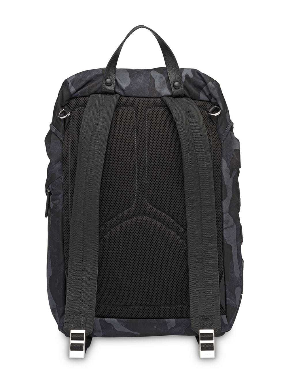 eaae26f5570286 Prada Printed Technical Fabric Backpack, $1,513   farfetch.com ...