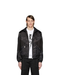 Neil Barrett Black Camo Modernist Jacket