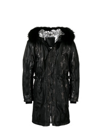 Philipp Plein Multiple Zipped Parka Coat
