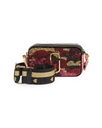 Marc Jacobs Snapshot Camo Sequin Crossbody Bag