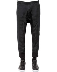 Neil Barrett Camouflage Wool Jacquard Jogging Pants