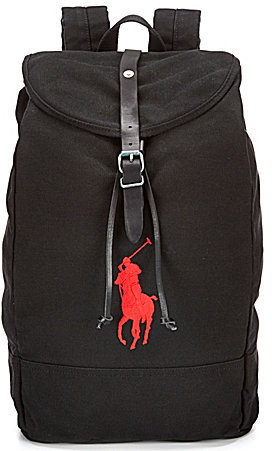 ... Polo Ralph Lauren Big Pony Canvas Backpack 576ddc2f806e4